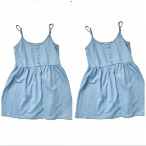 Asos Casual Light Blue  Mini Dress Size 2